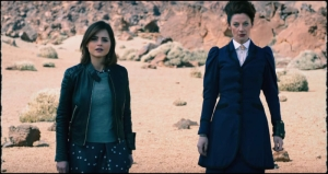 Clara Missy Doctor Who The Magician's Apprentice