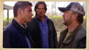 Dean Sam Bobby Singer Family don't end with Blood Supernatural