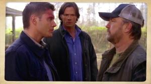 Dean Sam Bobby Singer Family don't end with Blood Supernatural