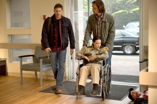 Sam Dean Sheriff Supernatural Out of the Darkness Into the Fire