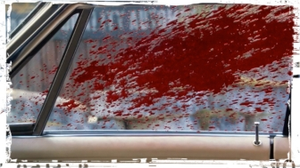 Blood on Impala Supernatural Baby