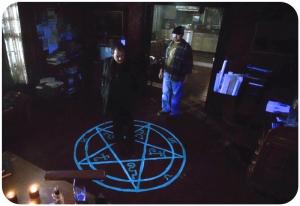 Bobby captures Crowley Supernatural Weekend at Bobbys