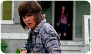 Carl shoots The Walking Dead JSS