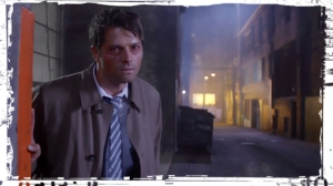 Castiel alley Supernatural Out of the Darkness Into the Fire