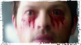 Castiel bloody eyes The Bad Seed Supernatural