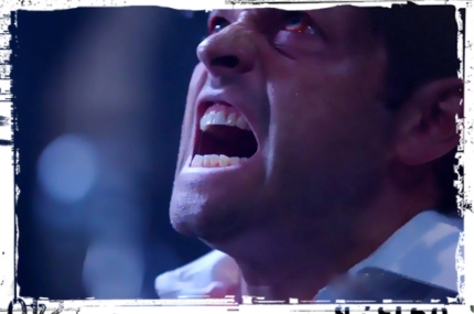 Castiel scream Supernatural Out of the Darkness Into the Fire