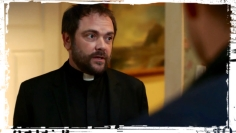 Crowley Dean Supernatural Out of the Darkness Into the Fire
