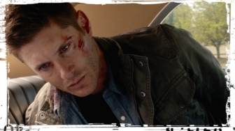 Dean handcuffs Supernatural Baby
