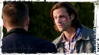Dean Sam postD Supernatural Out of the Darkness Into the Fire