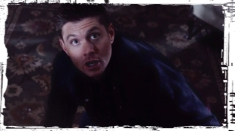 Dean Supernatural Out of the Darkness Into the Fire