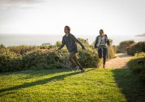 Christopher Manawa (Lorenzo James Henrie) and Alicia Clark (Alycia Debnam-Carey) in The Good Man. Photo by Justina Mintz/AMC.
