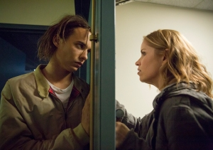Nick Clark (Frank Dillane) and Madison Clark (Kim Dickens) in The Good Man. Photo by Justina Mintz/AMC.