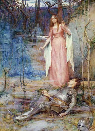 """""""La Belle Dame Sans Merci,"""" Henry Meynell Rheam, 1901"""