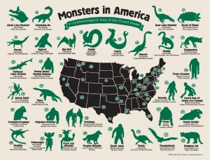 Monsters in America by Hog Island Press help to make bizarre loners mates for life.