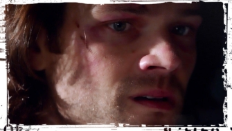 Sam CU Supernatural Out of the Darkness Into the Fire
