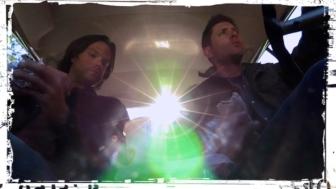 Sam Dean Winchester eat Supernatural Baby