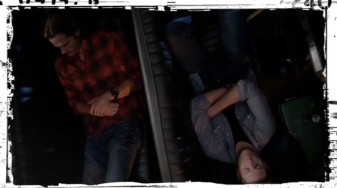 Sam Dean Winchester sleep Supernatural Baby