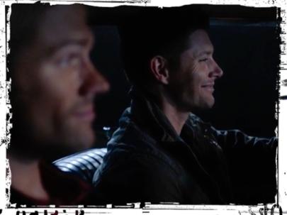Sam Dean Winchester smile night Supernatural Baby