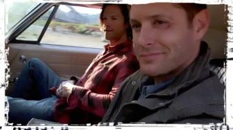 Sam Dean Winchester smirk Supernatural Baby