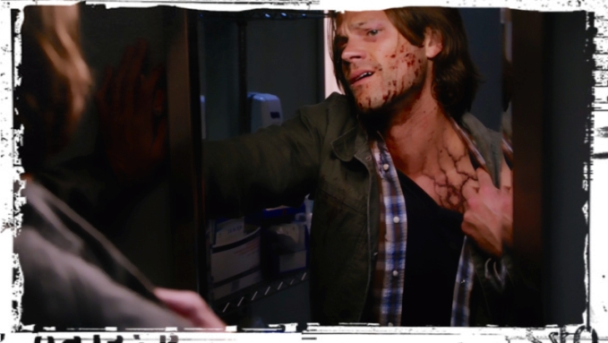 Sam Infected 2 Supernatural Out of the Darkness Into the Fire