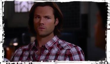 Sam looks at Crowley The Bad Seed Supernatural