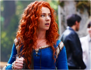 Amy Manson Merida blue Once Upon A Time