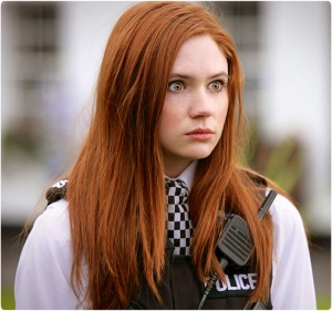 Amy Pond police Karen Gillan Doctor Who