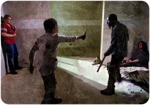 Carol Morgan fight The Walking Dead Start to Finish