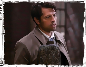 Castiel Demon Tablet Supernatural Our LIttle World