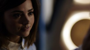 Clara smiles Doctor Who Heaven Sent