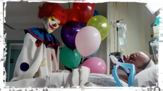Clown hospital bed Supernatural Plush
