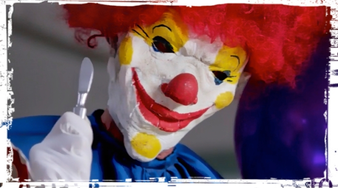Clown knife Supernatural Plush