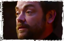 Crowley as dad Supernatural Our LIttle World