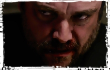 Crowley glowers Supernatural Our LIttle World