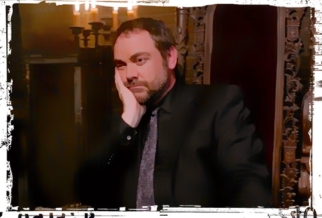 Crowley sad Supernatural Our LIttle World