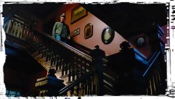 Dean stairs Supernatural Thin LIzzie