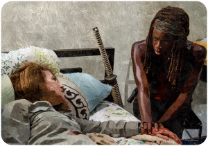 Deanna dies The Walking Dead Start to Finish