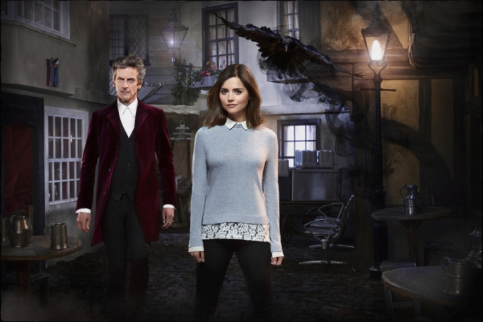 Doctor Clara Doctor Who Face the Raven