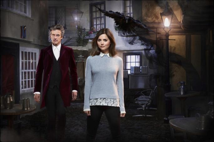 Doctor Clara Doctor Who Face the Raven
