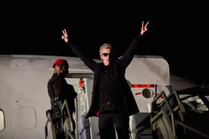 Doctor plane Doctor Who The Zygon Invasion