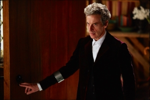 Doctor teleport device Doctor Who Face the Raven