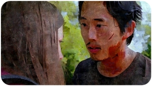 Enid Glenn Alexandria The Walking Dead Heads Up