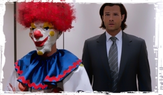 Kiler clown Sam Supernatural Plush