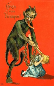 A 19th-c. Krampus card