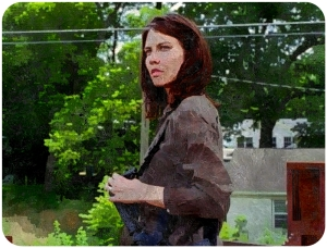 Maggie The Walking Dead Heads Up