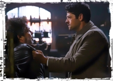 Metatron finds Castiel Supernatural Our LIttle World
