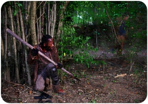 Morgan kills humans The Walking Dead Heres Not Here