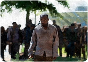 Morgan The Walking Dead Start to Finish