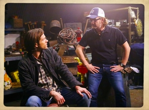 Richard Speight Jared Padelecki directing Supernatural