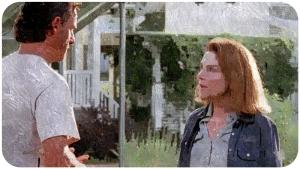 Rick Deanna The Walking Dead Heads Up